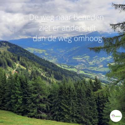 Wandelcoach Week in Oostenrijk Dag 3